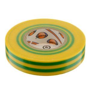 Изолента 15мм x 20м желто-зеленая AVIORA